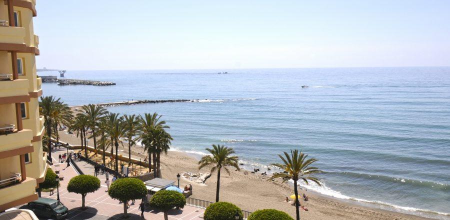 alquiler primera línea de playa Marbella