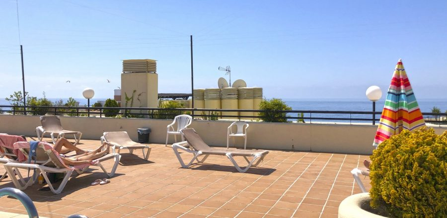 Beachfront rental Marbella