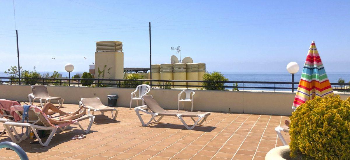Beachfront rental Marbella